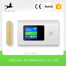 150Mbps wireless router, 2000mAH power bank,32G T-Flash card ,4g dual sim router XMR-S-2