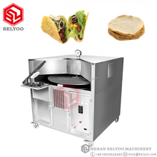 Fresh garlic naan wrap cheese naan maker oven machine for india street food