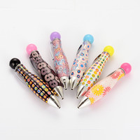 School Office Supplies Colorful Plastic Ballpoint