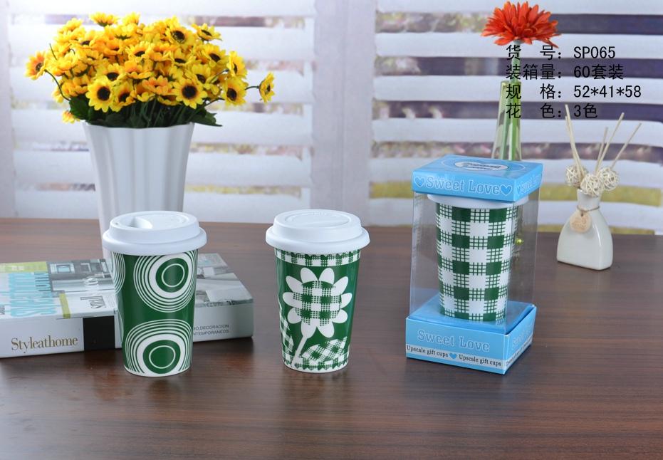 Sunflower Wholesale Ceramic Travel Coffee Mugs Big Mug