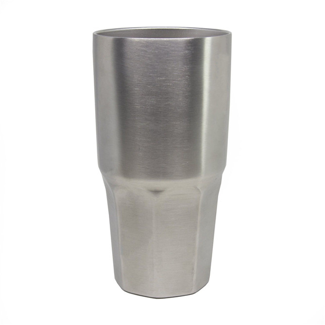 Double wall vaccum stainless steel coffee thermos with lid