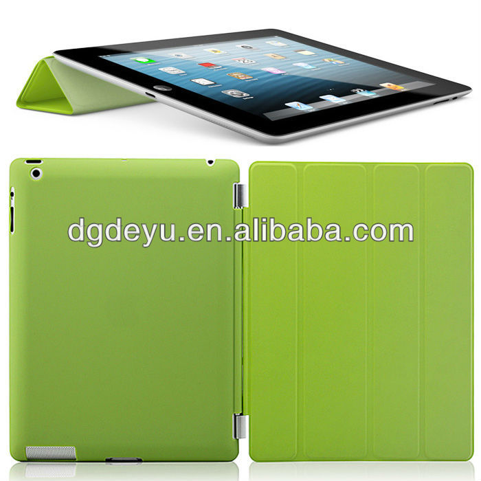 Universal tablet standing leather case cover for ipad 2 3