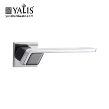 Fancy decorative outside double exterior front door handles and locks