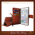 new products wallet style for iphone 6s flip leather case wholesale