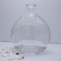 700ml high quality glass spirit bottle whole sale