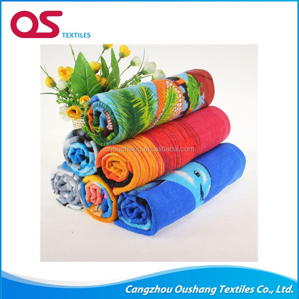 China wholesale market 70x140cm good quality circle beach towel Eco-Friendly , towel