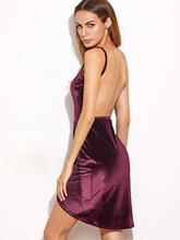 Hot New Products Casual velvet evening dress