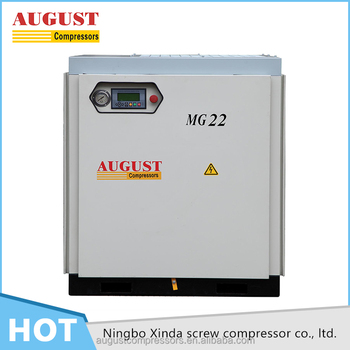 Selling Products stationary air cooled screw air compressor unit