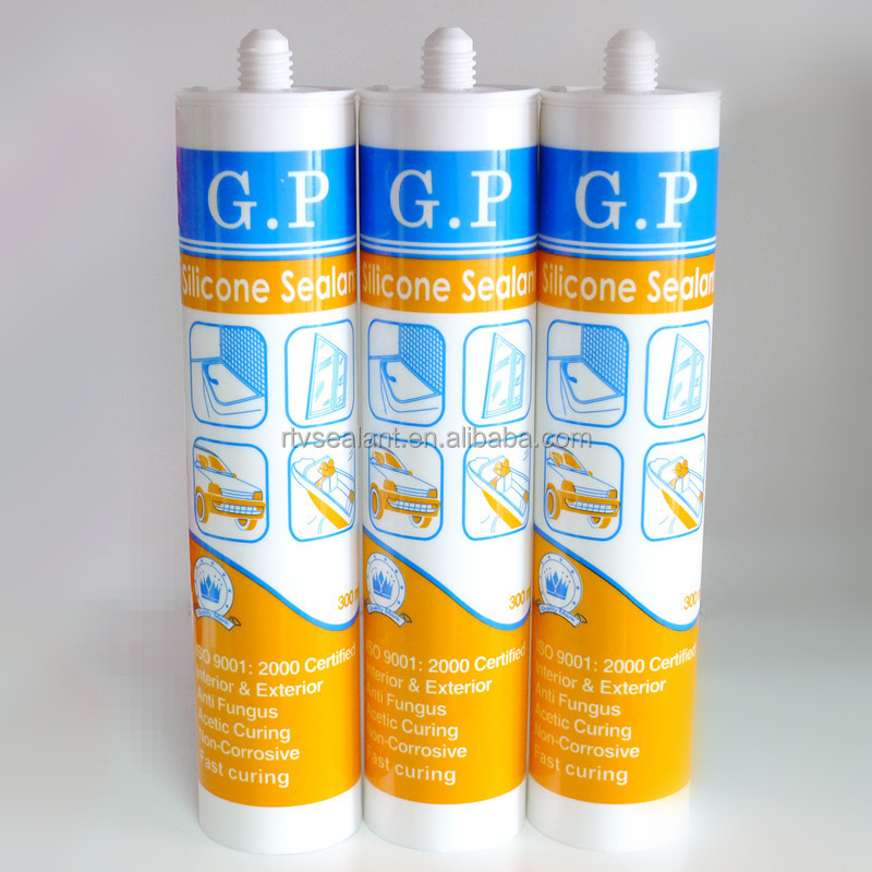 Silicon sealant,gp acetic silicone sealant,fast curing sealants
