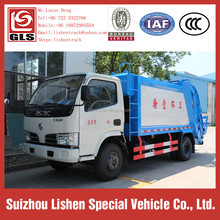 Newest Environment Machinery Sanitation Garbage Compactor Truck Electric Cheap Price DFAC 4 cbm Capacity of Garbage Truck