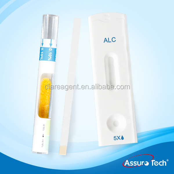 One Step Alcohol Urine Test Strip