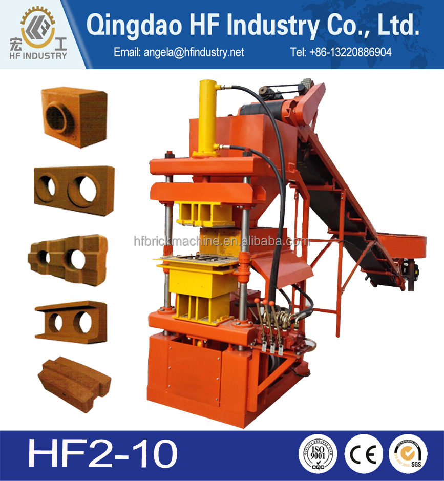 Clay brick making machine/ soil brick making machine/small brick making machine production line