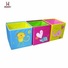 Factory Polyester Foldable Toy Storage Box for Kids
