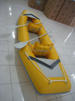 Chinese 13' Commercial inflatable fishing raft, whitewater river rafts,pvc pipe boat
