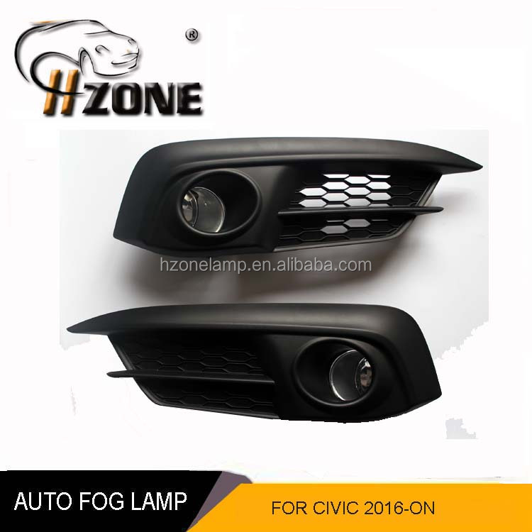 Top Quality Sell 12V 55W Fog Lamp For HD civic 2016 with DOT SAE certification