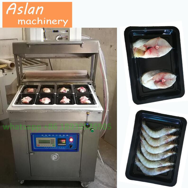 fruit and vegetable vacuum skin packing machine/MAP vacuum skin packaging machine