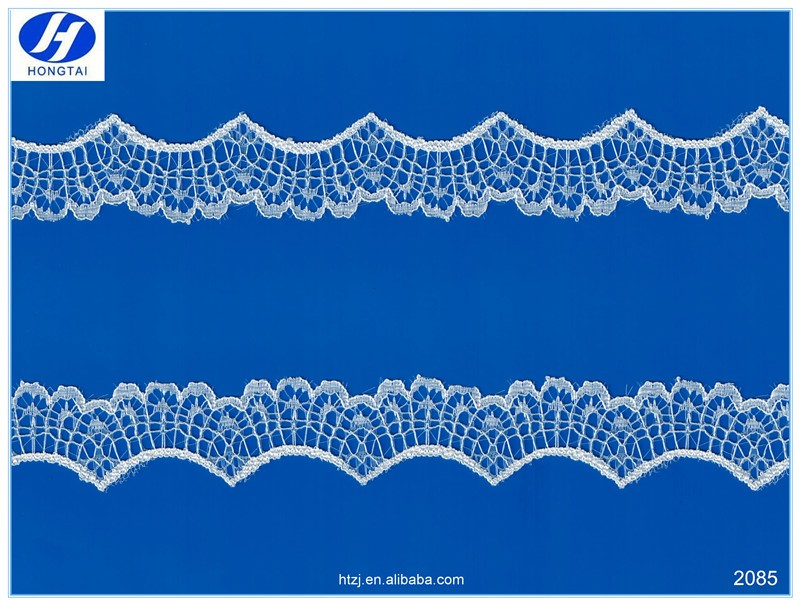 manufacturer china african lace fabrics embroidery Crochet Cotton Lace trim