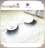 Manufacturer Wholesale TOP Quality Natural 3D Strip Eyelashes