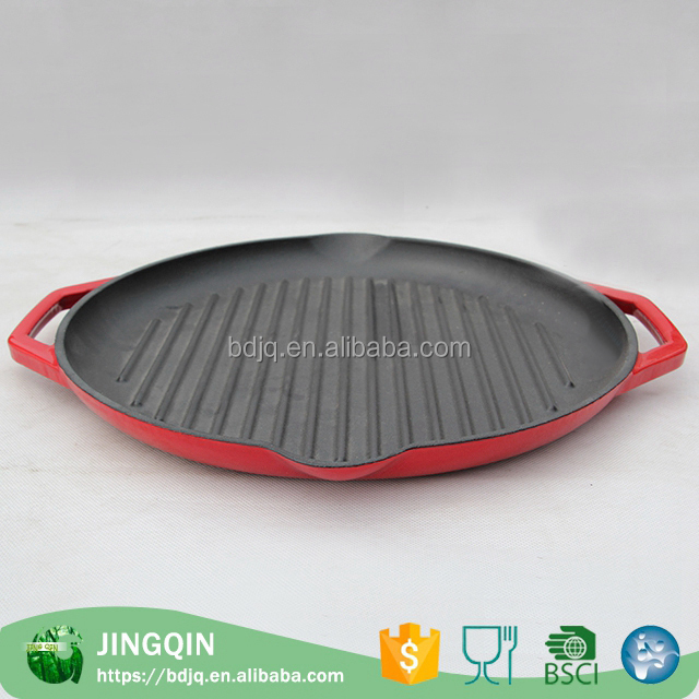 Wholesale custom non-stick cast iron fry pans
