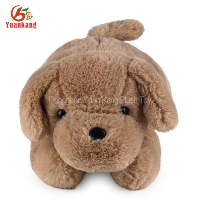 YK Supplier Best Made Toys Big Eyes Plush Dog Farm Animals Cartoon Soft Stuffed Dog Toys