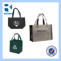 laminated foldable shopping non-woven fabric bag