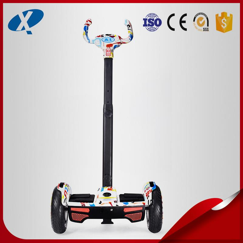 2017 New Design Professional used kids outdoor playground equipment XQ-A1 self-balance scooter with high quality