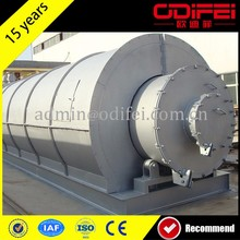 good service waste tyre pyrolysis to crude oil production line with the competitve price