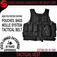 secured with included pistol belt Draw Vest tactical vest