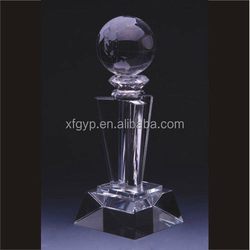 Cheapest Football Crystal Trophy Cup