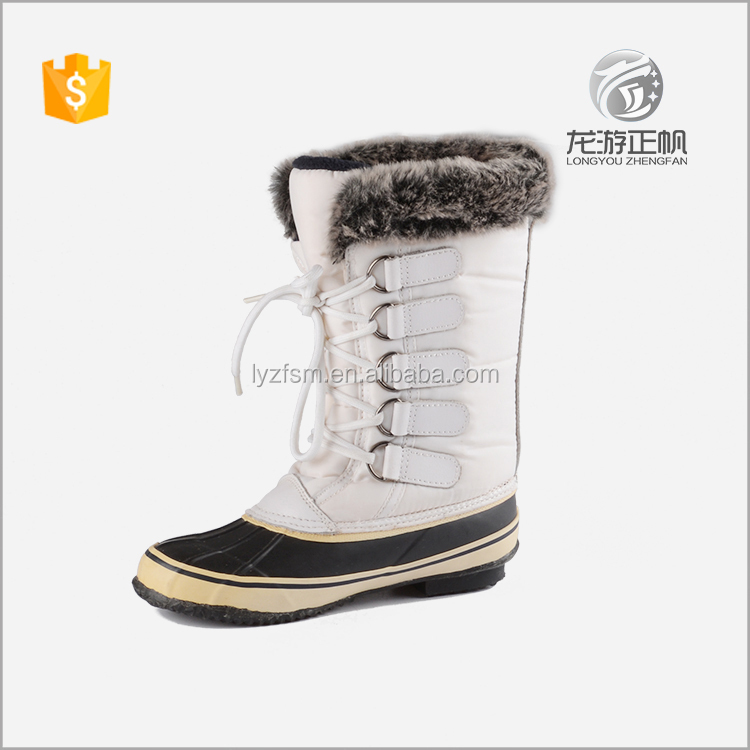 Inexpensive best women's white snow boots
