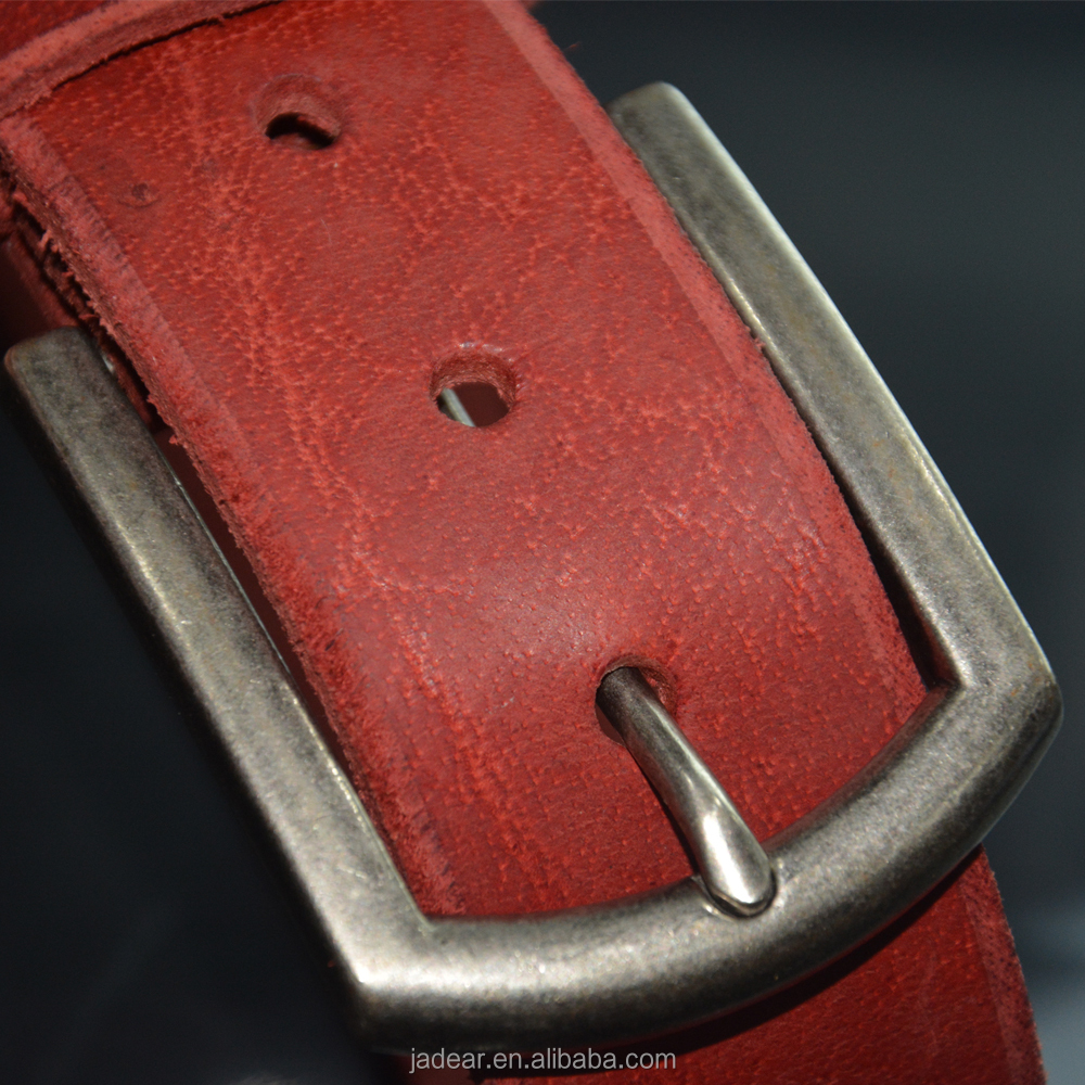 fashion holes colored leather belts/ladies new fashion hole belts
