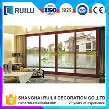 2016 New four panel sliding door designed by Ruilu with hardware