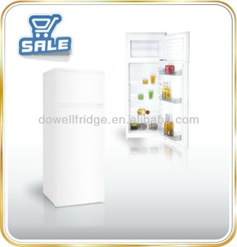 220L double door refrigerator