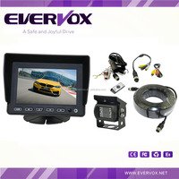 Rear view system with 5 inch monitor, heavy duty waterproof camera and 20M extension cable