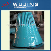 High Manganese Steel Casting Mantle And Concave Spare Parts For Crusher