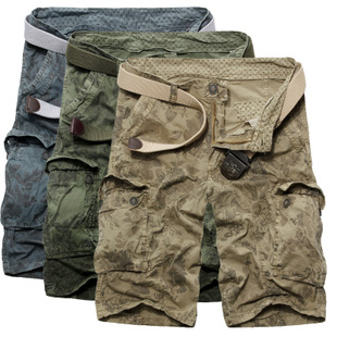 wholesale 2016 work cargo shorts overall camouflage short pants for men