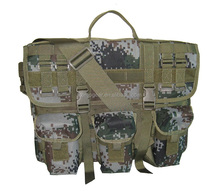 Unisex Outdoor Fashion Camo Military Messenger bag for hiking and travel