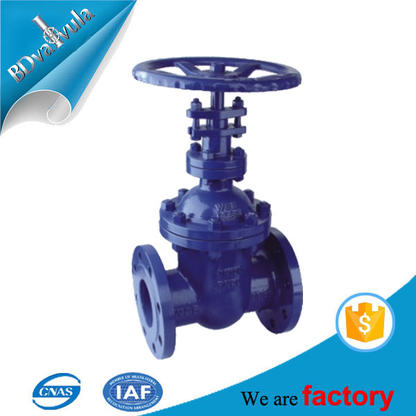 PN16 PN25 PN40 PN63 DIN F4 F5 cast steel GS-C25 rising stem gate valve