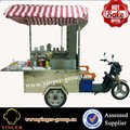 mobile bike food vending truck cart for crepe maker sale