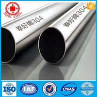 Bright Polished SS Welded Tube Grade201,304