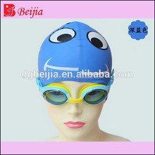 High quality funny ear protection rubber swmming cap round silicone /wholesale swimming cap
