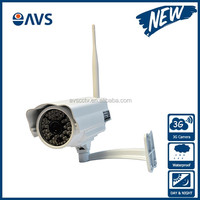 4G Wireless Webcam Waterproof IP67 h.264 Sim Card 4G IP Camera with SD Card Recording