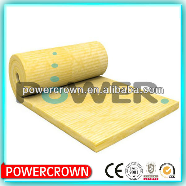 construction material list roof insulation glass wool price/ Resin Bonded Fibre Glass wool