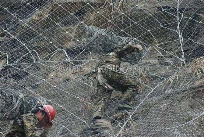 Xun Qiang Rockfall netting factory(Around the world for installation)