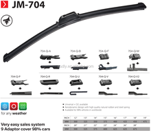 Multi-Function Windshield Universal Flat Car Frameless Wiper Blade