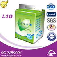 Reasonable Price Disposable European Adult Diaper with Velcro Manufacturer from China