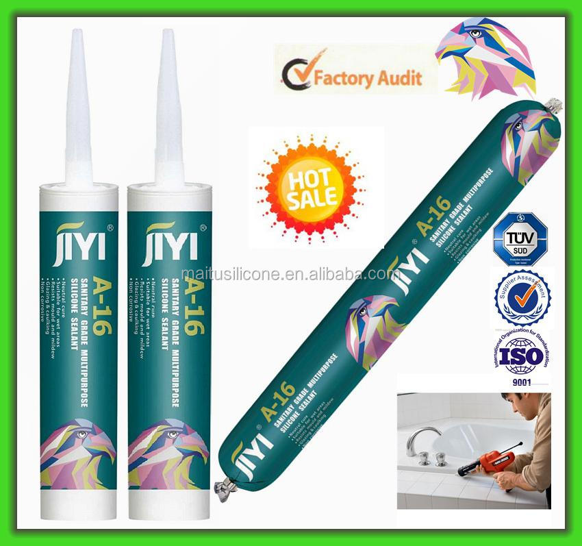 Food Grade Silicone Sealant Adhesive Clear With FDA Certificate