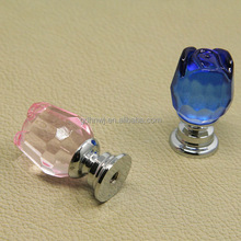 Free sample crystal dresser drawer knobs zinc alloy,cheap door handles