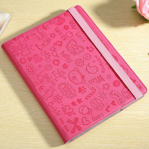 Wholesale price high quality super cute stand fashionable leather case for ipad 2