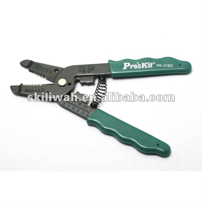Brand ProsKit 8PK-3163 7 In 1 Professional Wire Stripper And Cutter For AWG 30, 28, 26, 24, 22